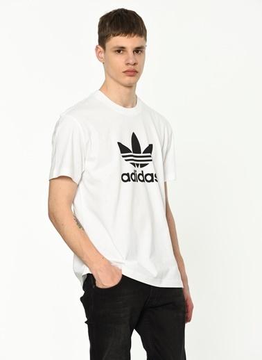 adidas Baskılı Tişört Beyaz